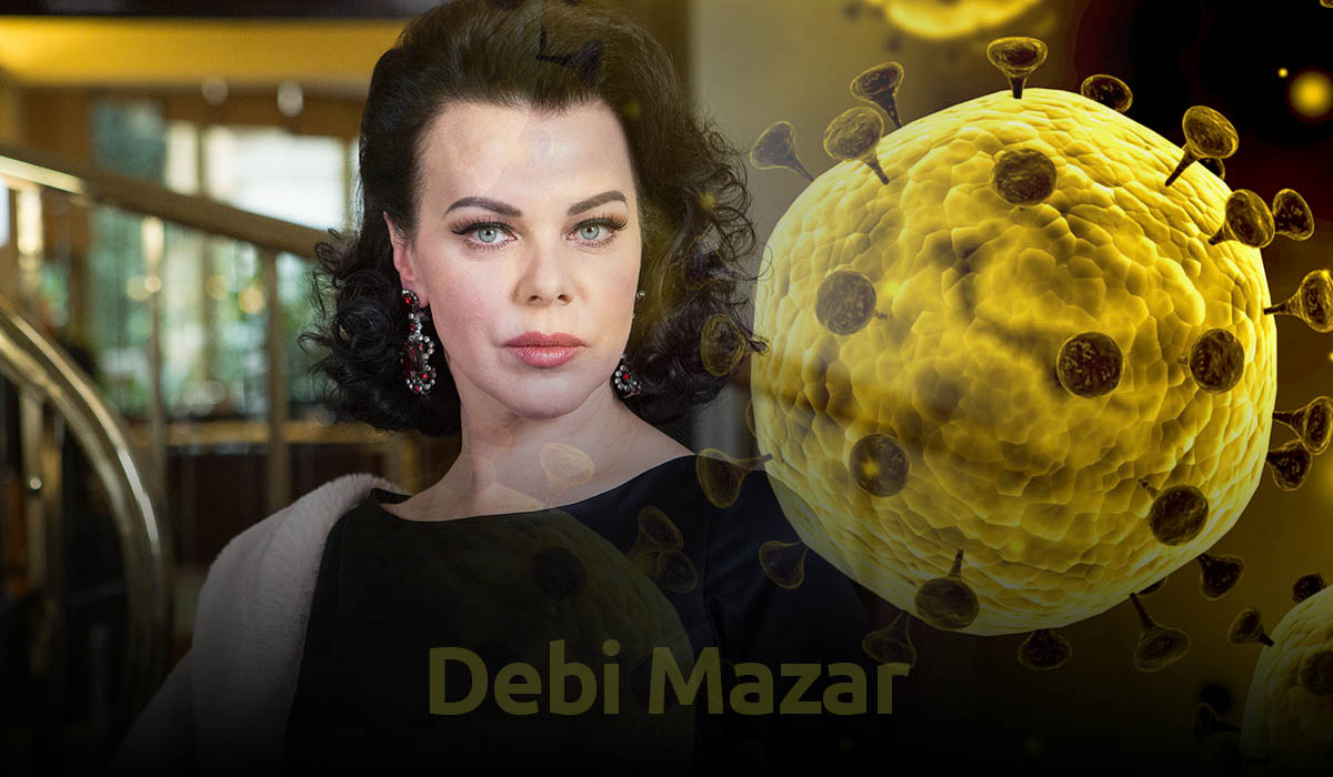 Debi Mazar announces that she got infected with COVID-19