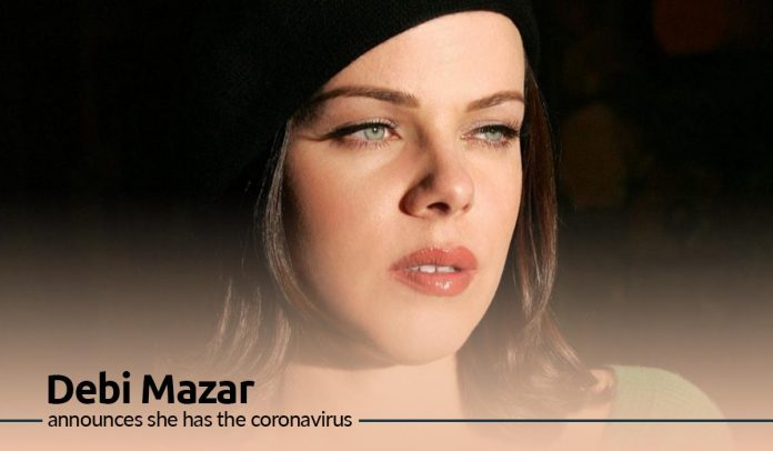 Actress Debi Mazar tested Positive with Coronavirus