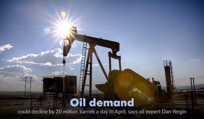Reduction of oil demand by twenty million barrels per day in April - Experts