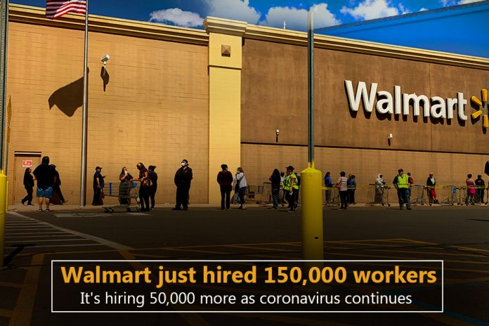 Walmart hiring thousands of workers amid Coronavirus