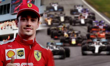 Charles Leclerc finishes esports quadruple