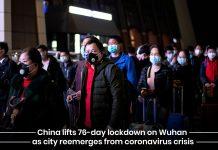 China lifts prolong lockdown on Wuhan City after overcoming coronavirus