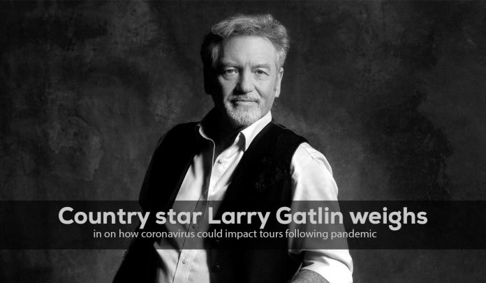 Larry Gatlin, Country star, weighs in on how coronavirus could affect tours following epidemic