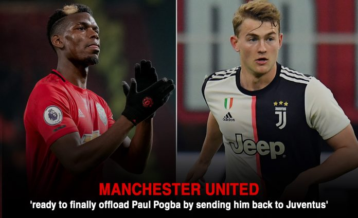 Manchester United going to Interchange Paul Pogba with Matthijs De Ligt