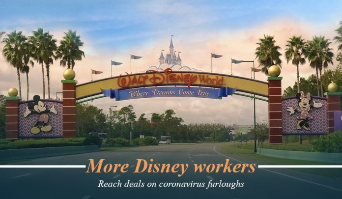 More Disney employees reach agreement on COVID-19 furloughs