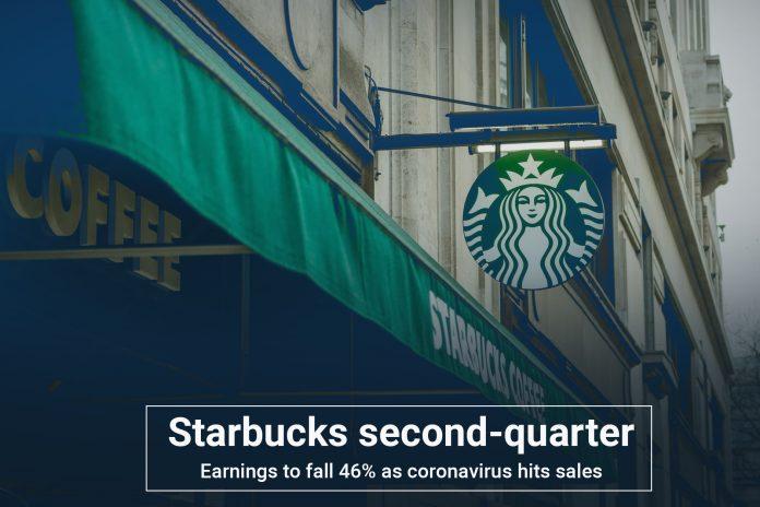 Starbucks second-quarter sales to decrease 46% amid Coronavirus epidemic