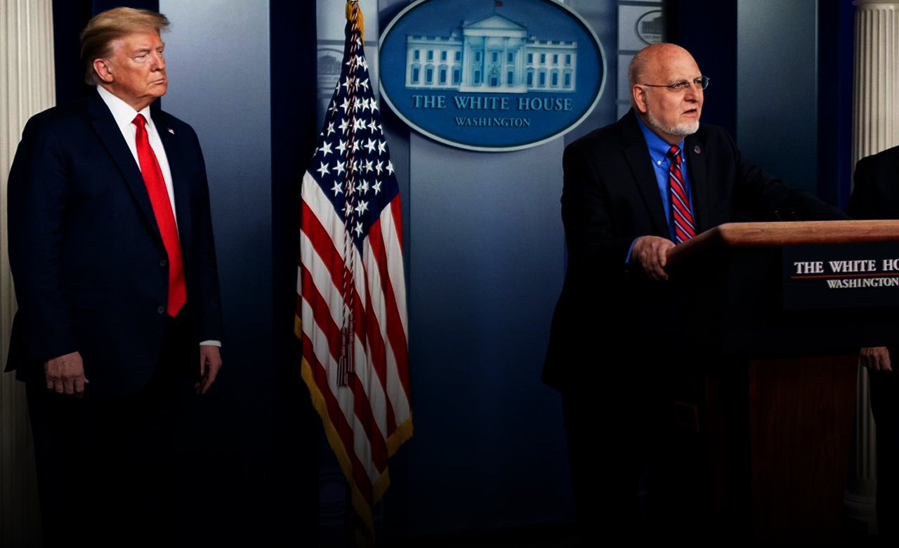 CDC director self-quarantining after exposure to person at the White House who tested positive for Covid-19