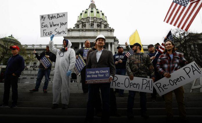 President Trump to visit Pennsylvania amid battle over state's coronavirus shutdown policies