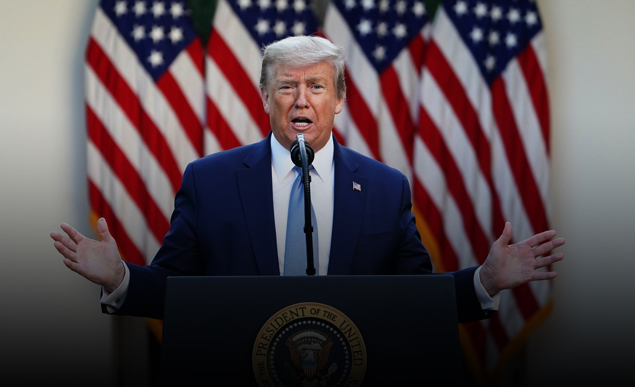 Trump tour to Pennsylvania to see state's conflicts about stay-at-home policies amid Coronavirus