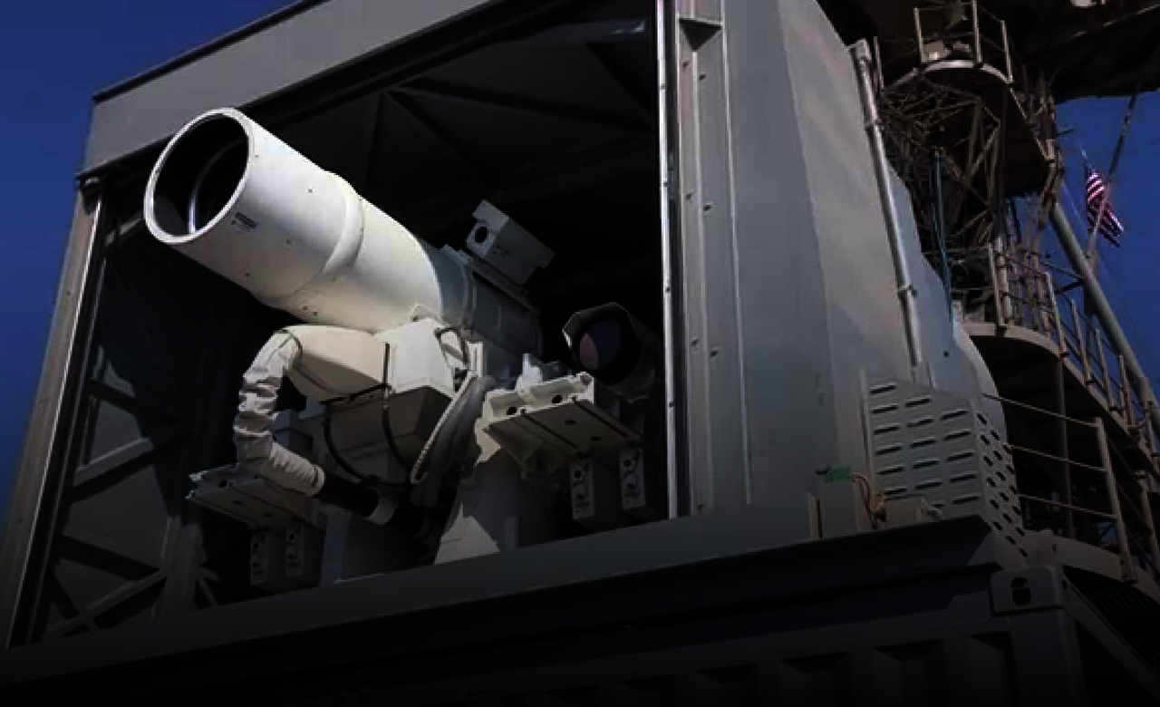 A Laser Weapon successfully tested by the United States
