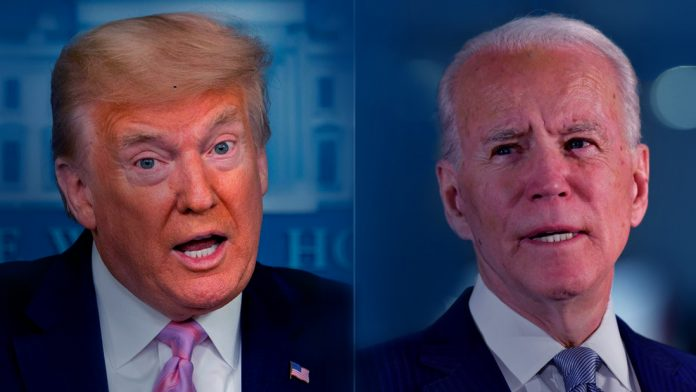 President Trump and Biden, each crossed sixty million dollars with their campaign for fundraising programs