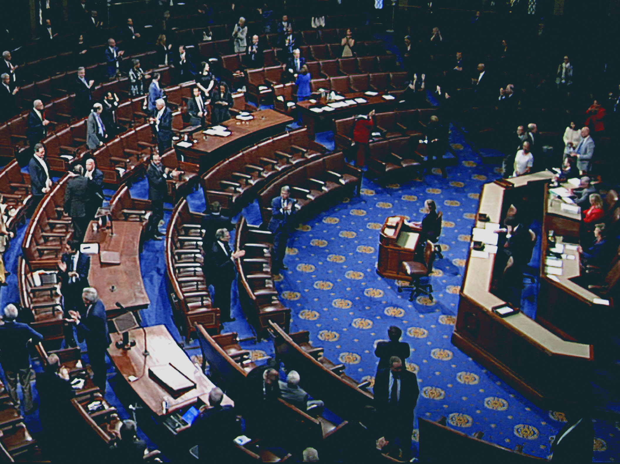 House passes three trillion dollars for the COVID-19 relief bill