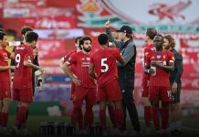 Record breaking season: Liverpool claimed the top-flight title in Premier League