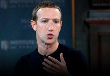 Zuckerberg, Facebook co-founder, now has 100 billion dollars worth