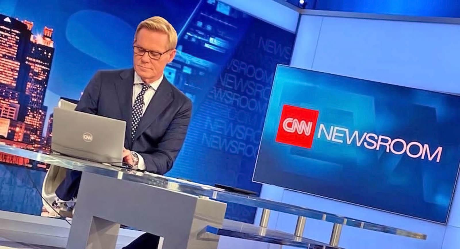CNN Newsroom set