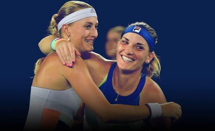 Mladenovic Quit US Open doubles
