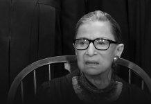 Hollywood stars tributed Justice Ruth Bader Ginsburg for his remarkable services