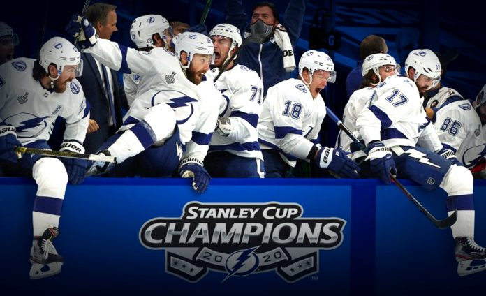 Tampa Bay Lightning won the Stanley Cup for the second time