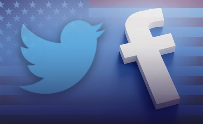 Facebook & Twitter terminated accounts misleading social media campaign