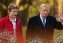 First Lady confirms Barron Trump's infection of COVID-19