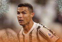 Soccer Star Ronaldo returned to Italy after tested positive for Coronavirus