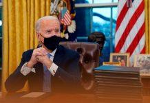 Joe Biden approved ten executive orders regarding pandemic