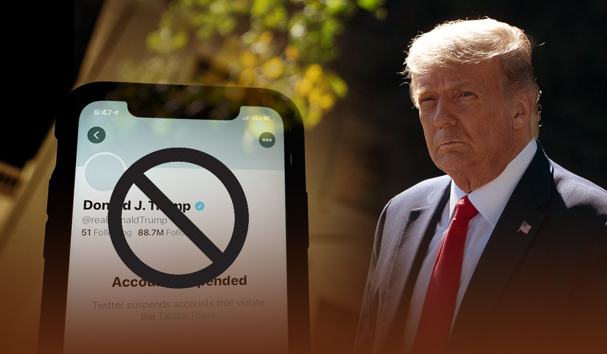 Twitter suspended President Trump's account permanently