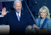 Joe Biden took oath as the 46th President of America