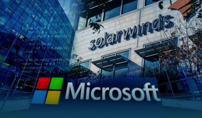 SolarWinds hacking group got into the source code of Microsoft