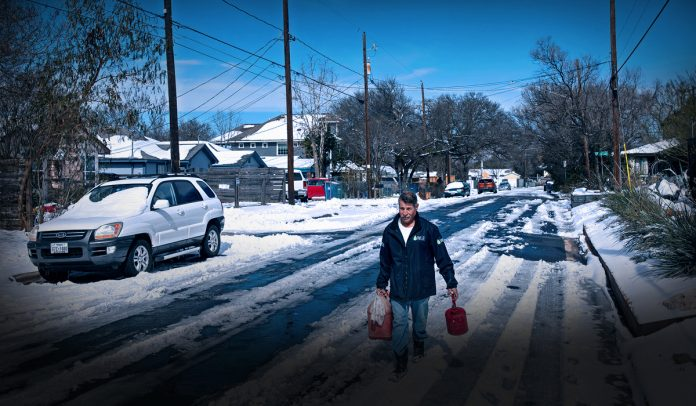 Winter Storm leads to challenging circumstances for Texans