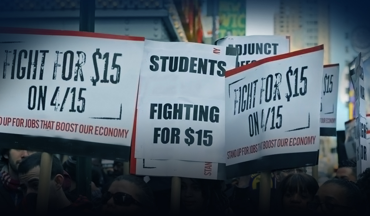 Lawyers are working to make case for $15 minimum wage - Sanders