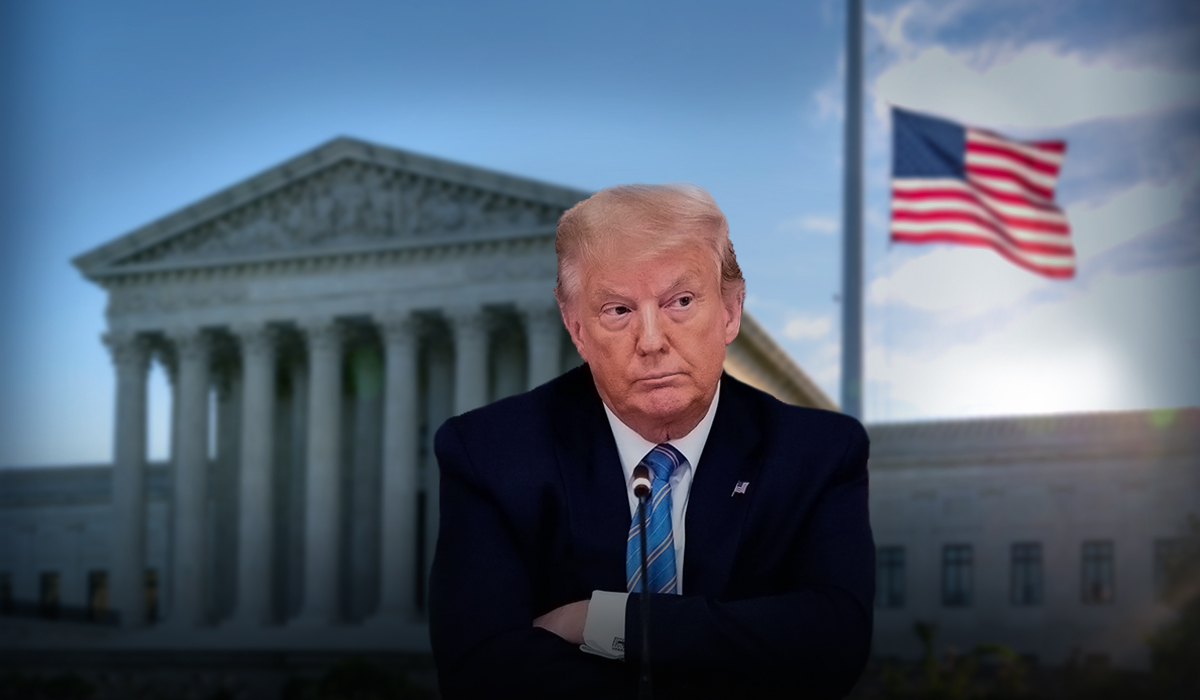 Trump slammed the Supreme Court's decision over his tax records