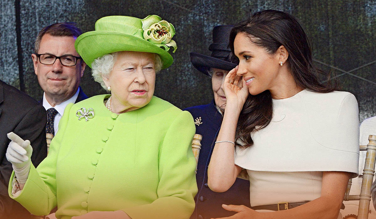 Depressed Queen to address Meghan and Harry's racism allegation