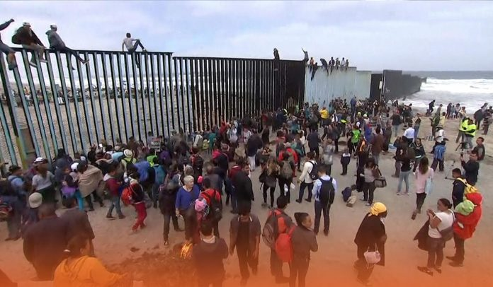 America caught around 100,000 migrants at Southern Border in Feb