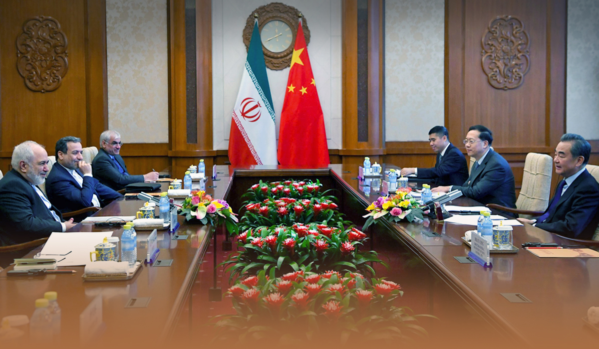 China and Iran came under 25 year cooperation strategic pact