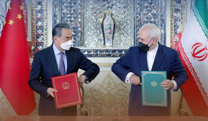 China and Iran came under 25-year cooperation deal