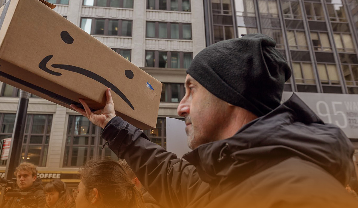 Illicit retaliation by Amazon against climate activists