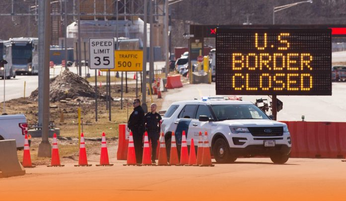 Border crossings ramped up seventy percent earlier month