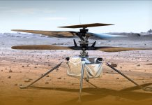 NASA's Mars Helicopter Takes off First Ever Powered Flight on Another Planet