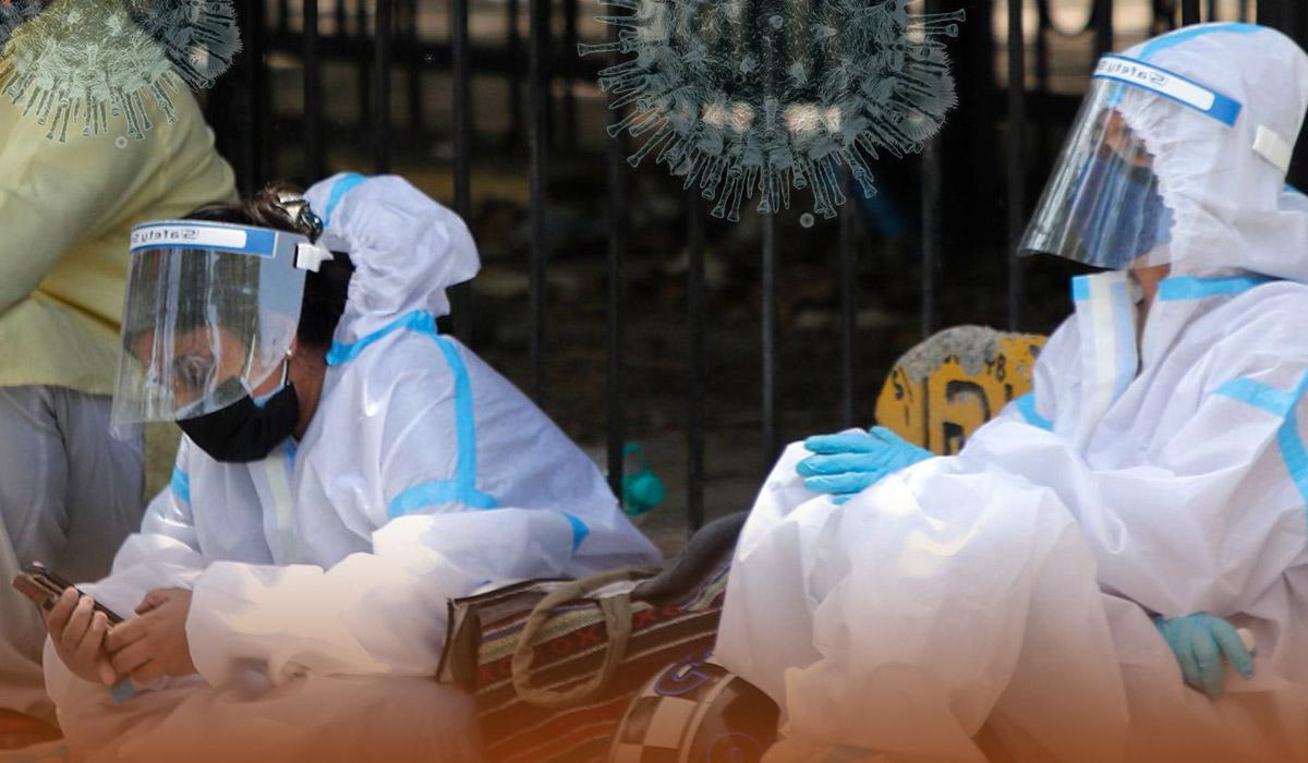 India's daily Coronavirus cases surpassed 400,000