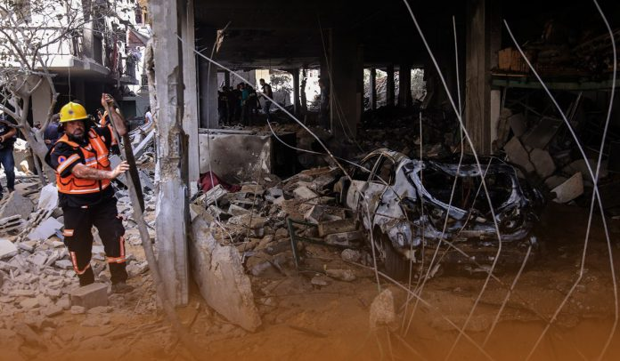 The cease-Fire between Hamas and Israel Holds for the Third Day