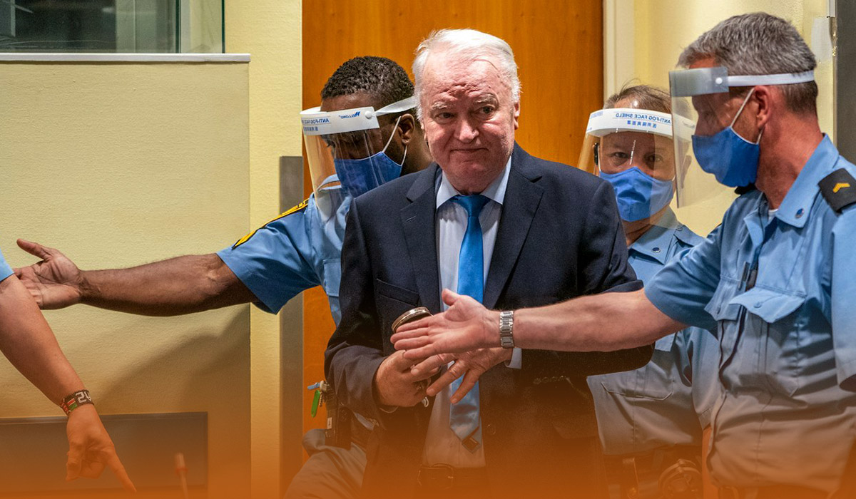 United Nations Court rejects Bosnia War Crimes Appeal by Ratko Mladic