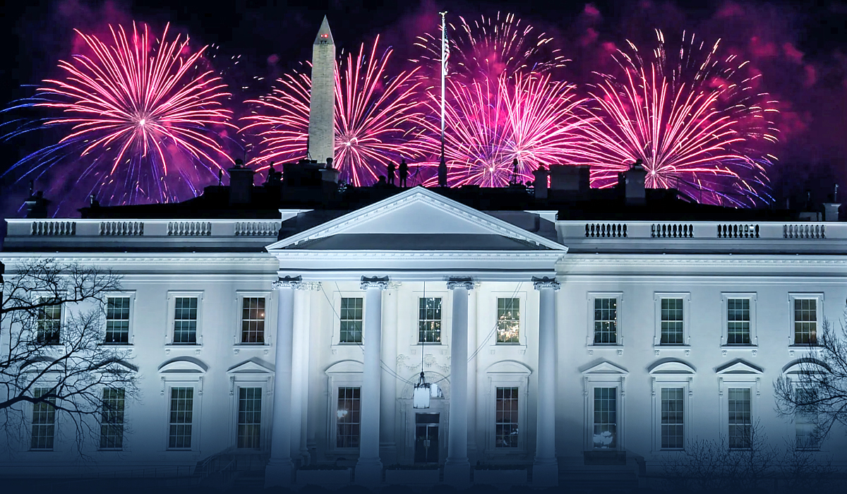 Biden advertised COVID progress at the July 4 White House event