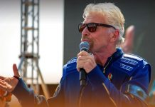 Richard Branson Successfully Entered the Space in his Own Space Rocket