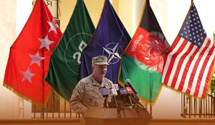 Top American Commander in Afghanistan resigns from his post