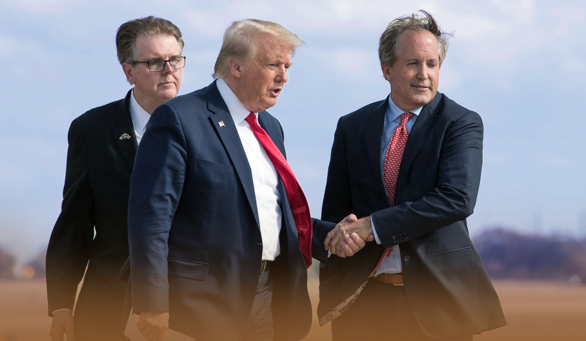 Trump Endorses Texas Attorney General Ken Paxton For Texas AG