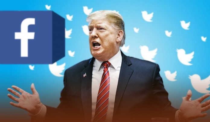 Former President Trump filed a lawsuit against Twitter and Facebook for blocking his accounts
