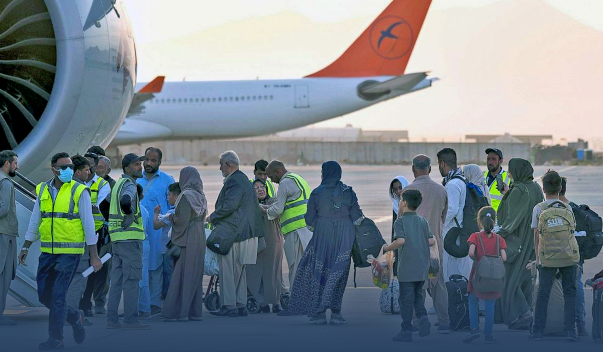 Taliban Permit Americans and Other Westerners to Flee Afghanistan